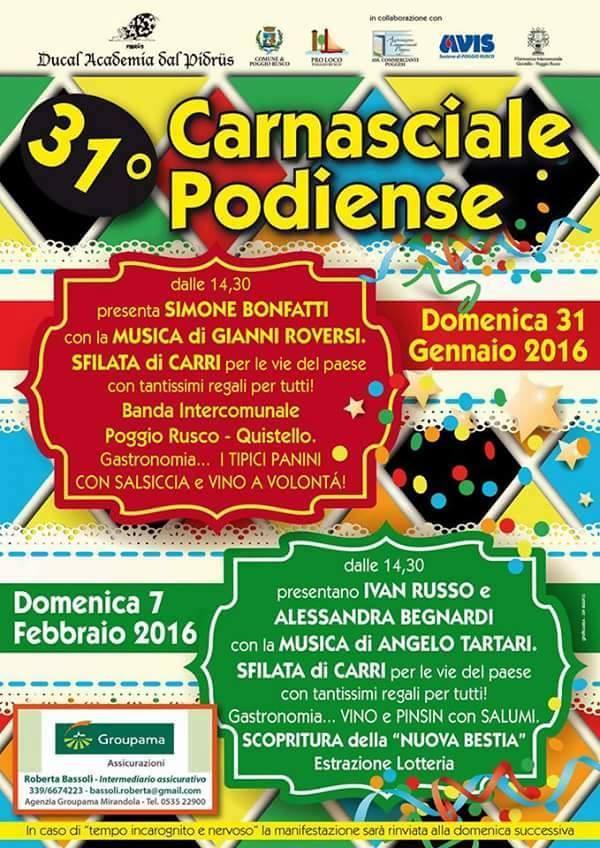 Carnevale Poggio 2016