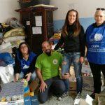 Foto di gruppo coi volontari Oipa